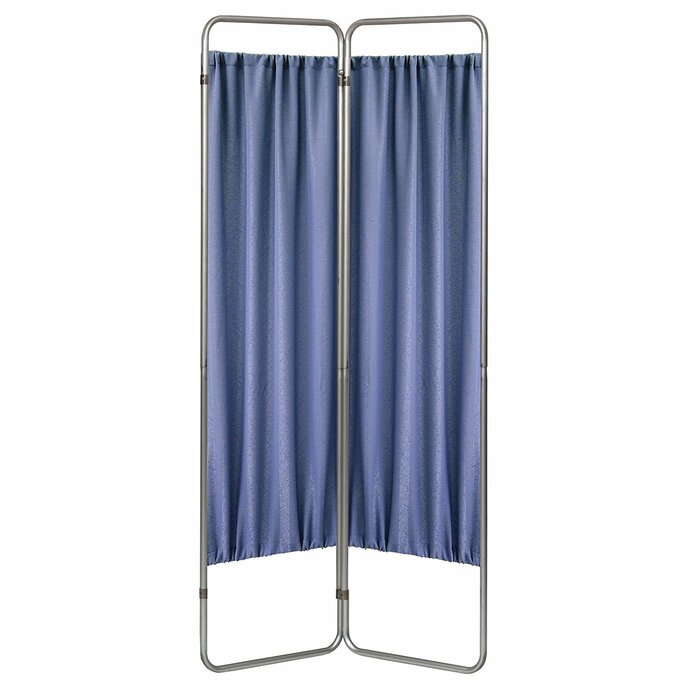 Privacy Screen 2 Panel Room Divider