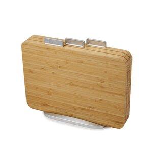 Index Bamboo Cutting Board Set (Set of 3)