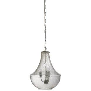 Seeded glass pendants wayfair seeded glass nimbus 3 light schoolhouse pendant aloadofball Image collections