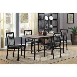 Maja 5 Piece Dining Set 17 Stories