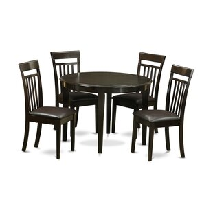 Hillhouse 5 Piece Dining Set by Red Barrel Studio