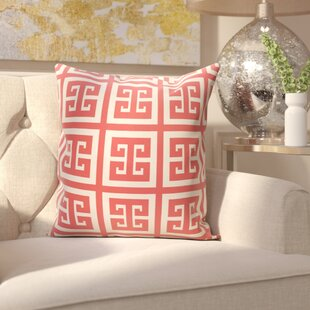 Croydon Geometric Decorative Outdoor Pillow
