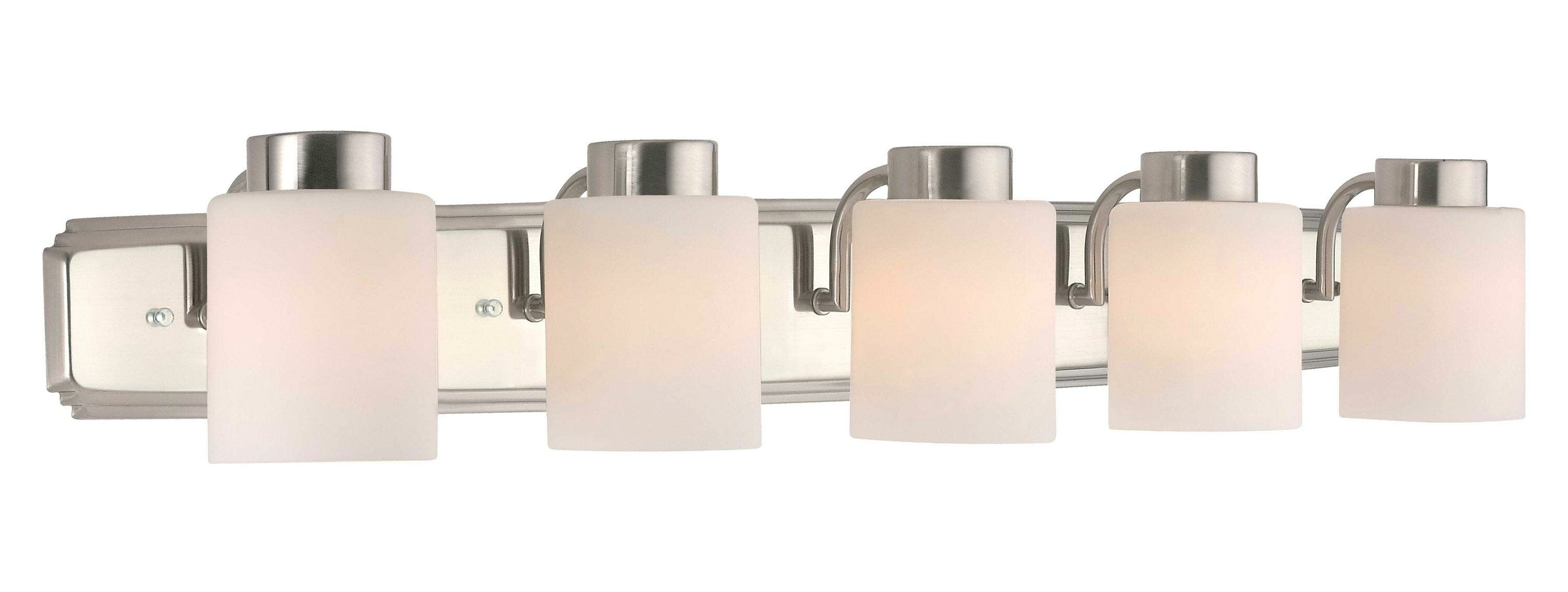 Deon 5 Light Vanity Light Reviews Allmodern