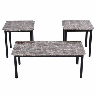 Winston Porter Farias 3 Piece Coffee Table Set