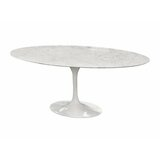 Hagins Marble Dining Table by Everly Quinn