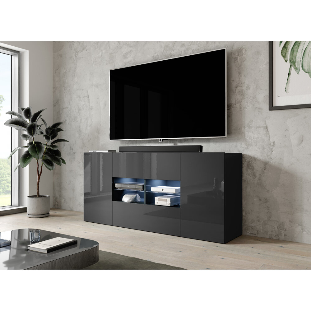 Orren Ellis Ea Tv Stand For Tvs Up To 70 Reviews Wayfair