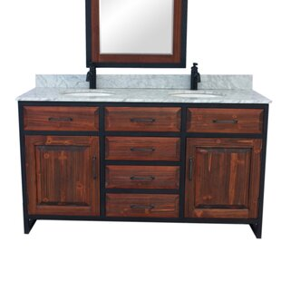 60 Double Bathroom Vanity Set by Gracie Oaks