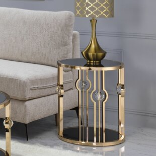 Bellingham End Table by Everly Quinn