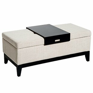 Ebern Designs Nico Tufted Storage Ottoman