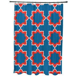 Meetinghouse Bohemian 2 Geometric Print Single Shower Curtain