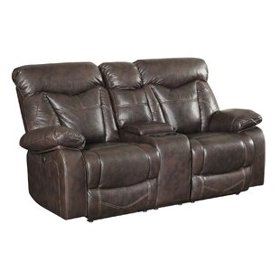 Breezeknoll Power Leather Reclining Sofa