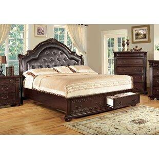 Ellis Upholstered Platform Bed by A&J Homes Studio Sale