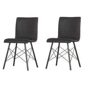 School Upholstered Dining Chair (Set of 2) by Brayden Studio