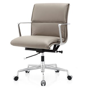 Meelano Italian Leather Office Chair