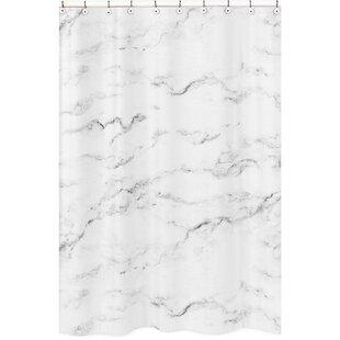 Marble Shower Curtain BySweet Jojo Designs