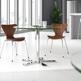 Slivno Round Glass Table by Upper Square™
