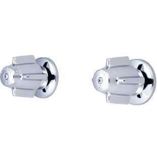 Central Brass Double Canopy Handle Valves