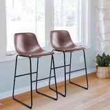Carnahagh Extra Tall Stool (Set of 2) by 17 Stories