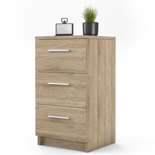 Vereen 3 Drawer Bedside Table By 17 Stories