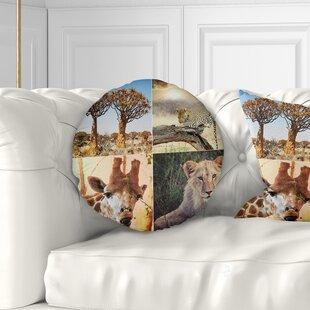 African Print Throw Pillows Wayfair