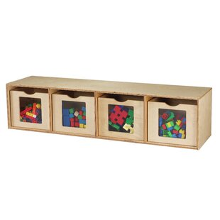 Price comparison See Me 4 Compartment Cubby with Bins By Childcraft