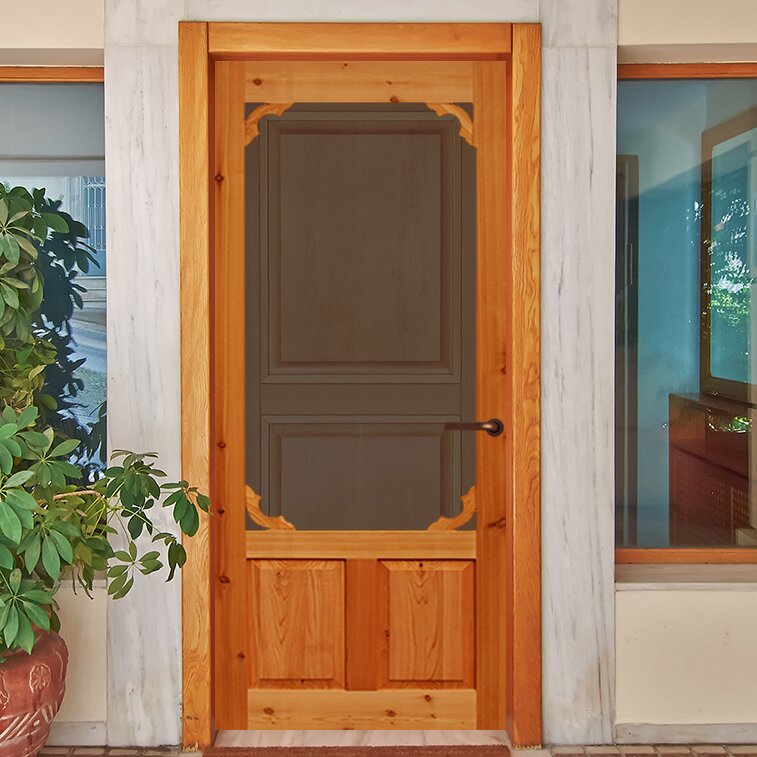 Kiby Cedar Exterior Door Wayfair