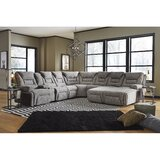 Annick 134 Left Hand Facing Reclining Sectional by Red Barrel Studio®
