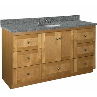 Lysette 60 Single Vanity Base Only By Millwood Pines
