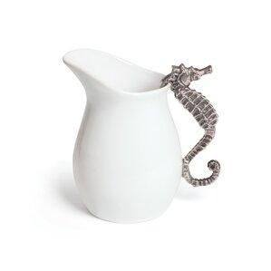 Caton Seahorse Ceramic Pitcher