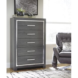 Halesworth 5 Drawer Chest by Orren Ellis Modern