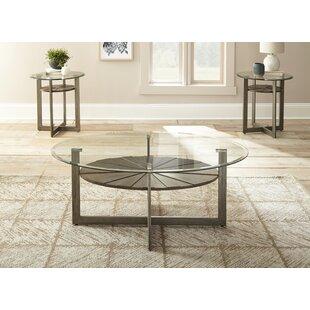 Nivens 3 Piece Coffee Table Set by Brayden Studio