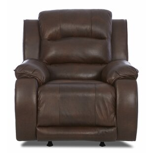 Baton Rouge Recliner with Headrest and Lumbar Support Darby Home Co