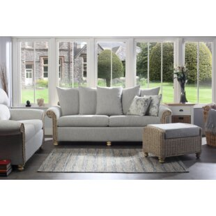Alison 3 Piece Conservatory Sofa Set By Beachcrest Home