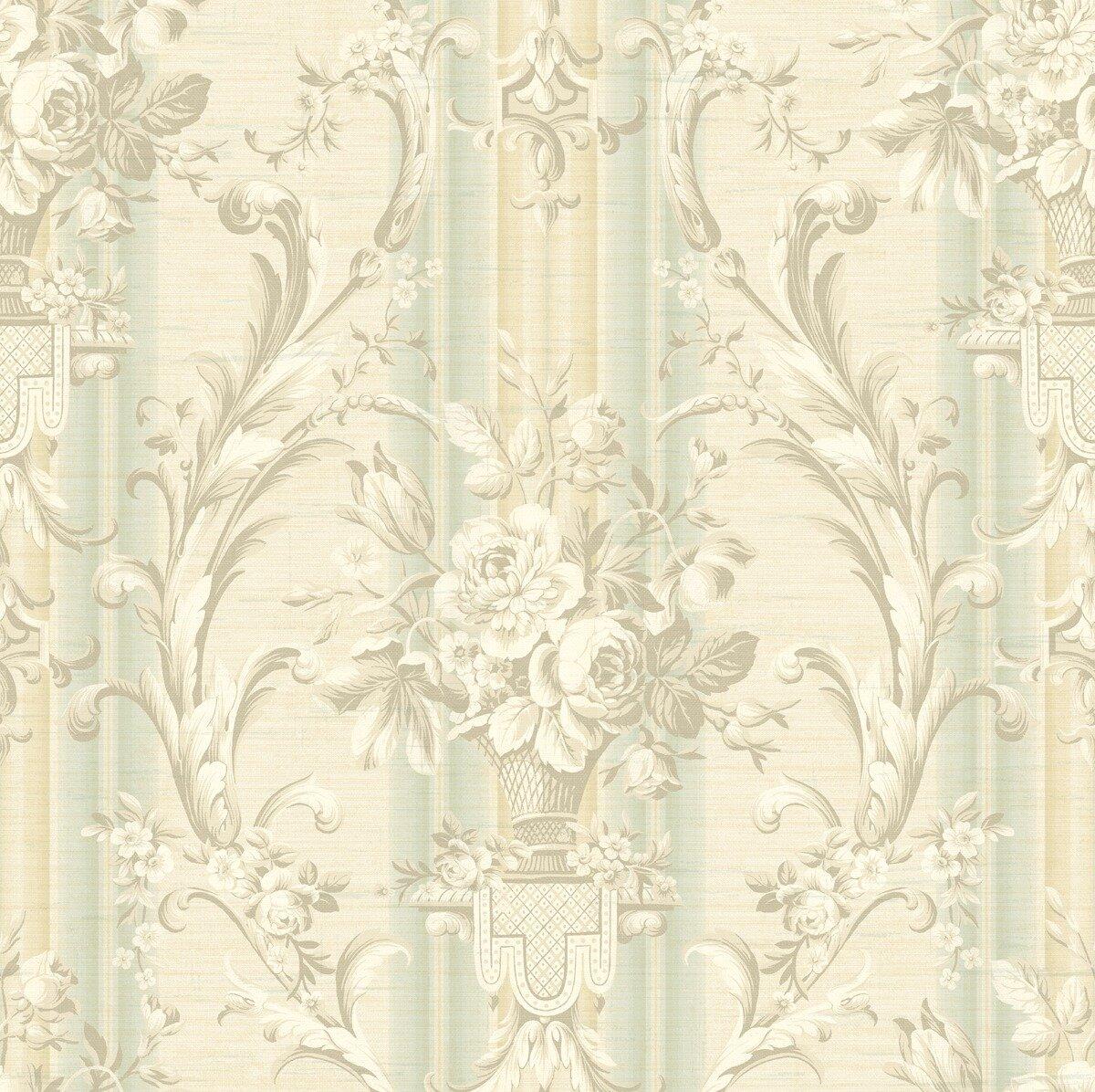 House Of Hampton Swanigan Wiltshire Floral Stripe 33 L X 20 5 W