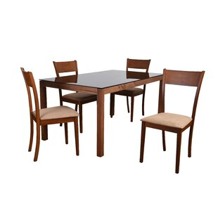 Roosevelt 5 Piece Rectangular Dining Set
