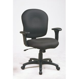 Office Star Products Sculptured Mid-Back Desk Chair