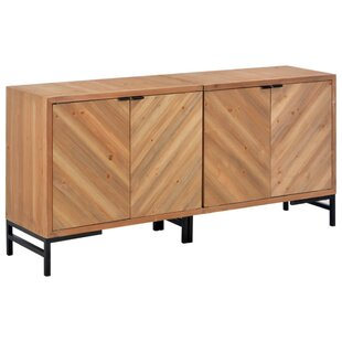Elbert Solid Wood Sideboard By Williston Forge