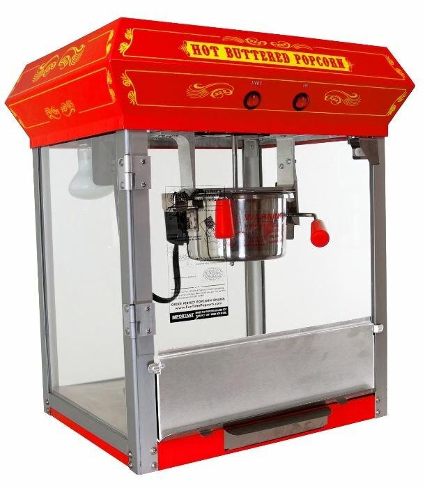 4 Oz. Tabletop Kettle Popcorn Machine