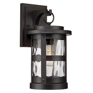 Millwood Pines Atticus 1-Light Outdoor Wall Lantern