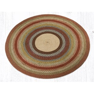 Scolley Jute/Sisal Red/Brown Area Rug by August Grove