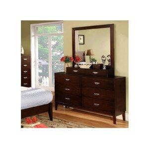 Poulsen 8 Drawer Double Dresser