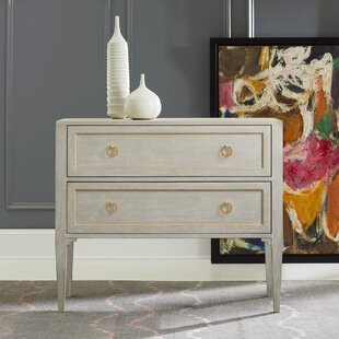 Gustavian 2 Drawer Accent Chest by Modern History Home