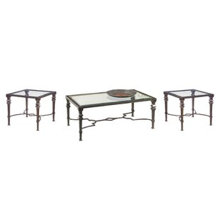 Nixa 3 Piece Coffee Table Set
