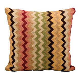 'Carrera Chevron Throw Pillow