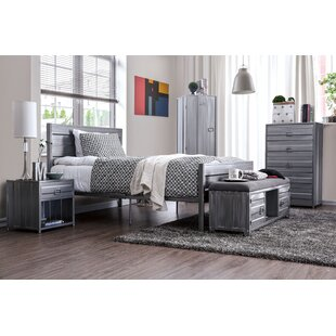 Adame Upholstered Platform Configurable Bedroom Set