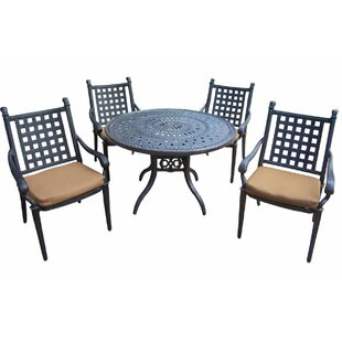 Darby Home Co Arness 8 Piece Dining Set and Bistro Set