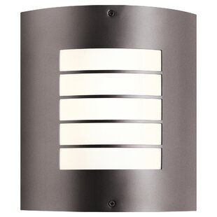 Warner 1-Light Outdoor Flush Mount