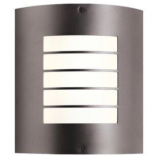 Warner 1-Light Outdoor Flush Mount