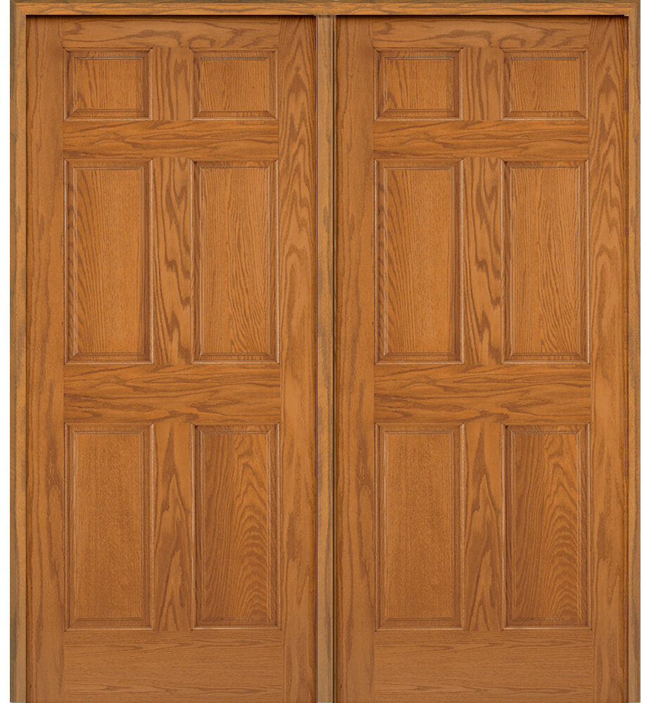 Superieur Verona Home Design Stile And Rail 6 Panel Unfinished Prehung Door | Wayfair
