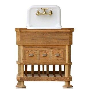 "Crewellwalk Craftsman Style 36"" Single Bathroom Vanity Set"